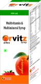 Orvitz Syrup 100 ml.
