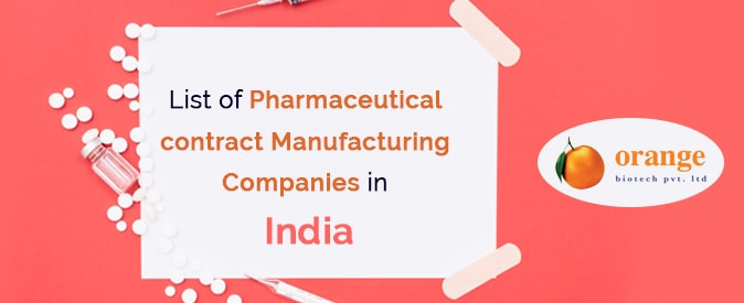 Pharmaceutical contract Manufacturing Companies in India - List